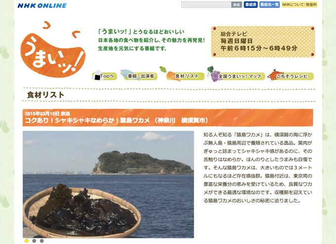 NHK_sarushimawakame
